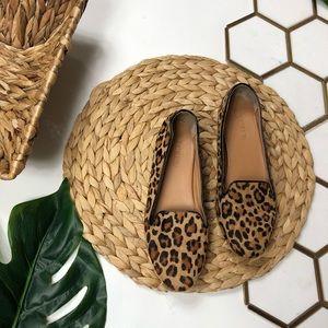 J. Crew Leopard / Cheetah Print Loafers / Flats